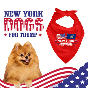 New York For Trump Dog Bandana Limited Edition Sale