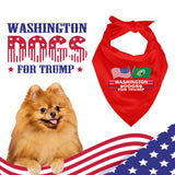 Washington For Trump Dog Bandana Limited Edition Sale