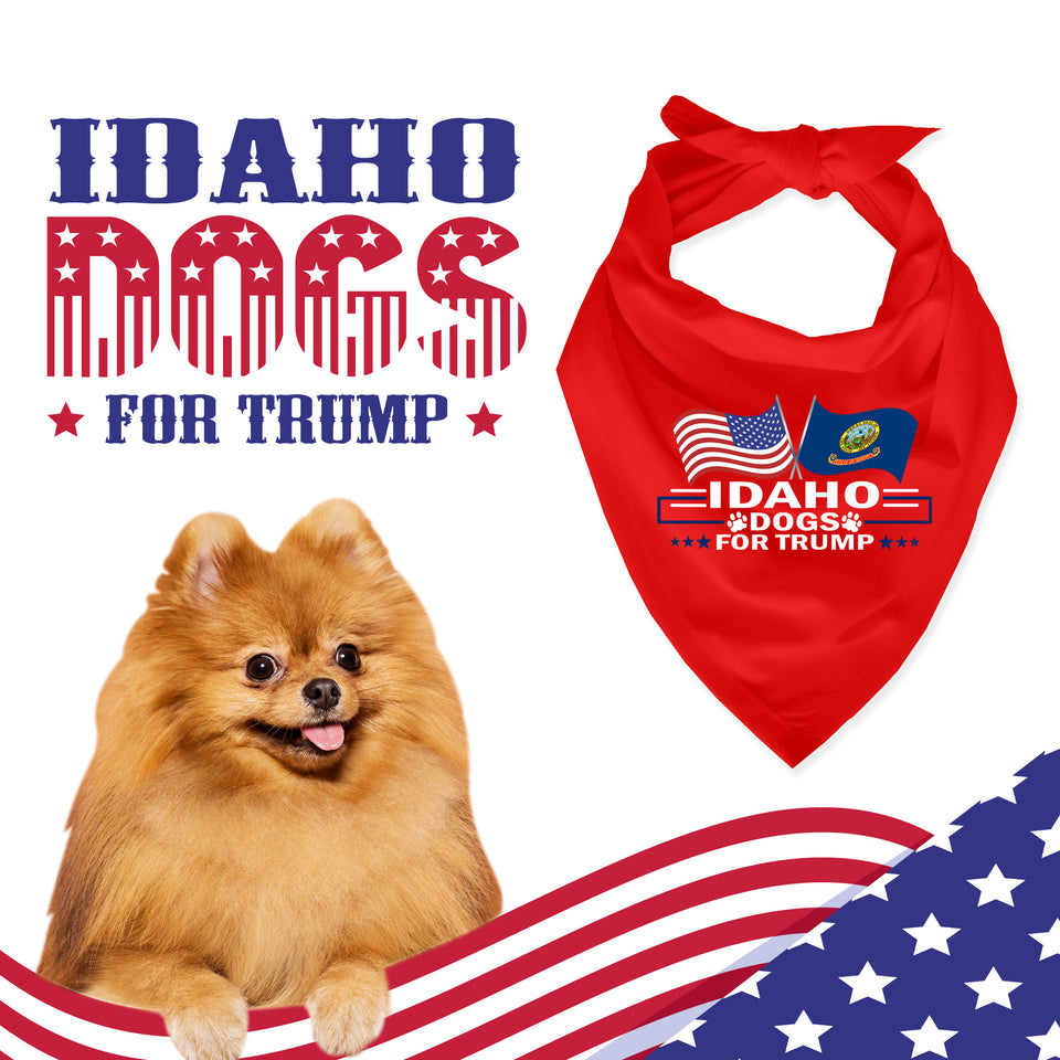 Idaho For Trump Dog Bandana Limited Edition