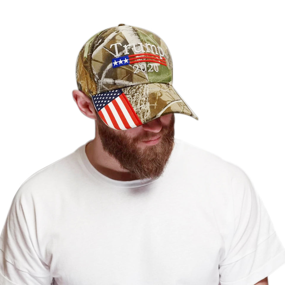 Trump 2020 Camo  & Pink Hat Bundle