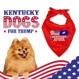 Kentucky For Trump Dog Bandana Limited Edition