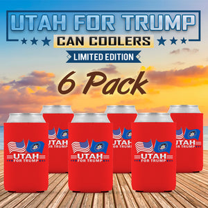 Utah For Trump Limited Edition Can Cooler 6 Pack