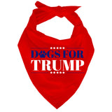 Dogs For Trump Dog Bandana Sale