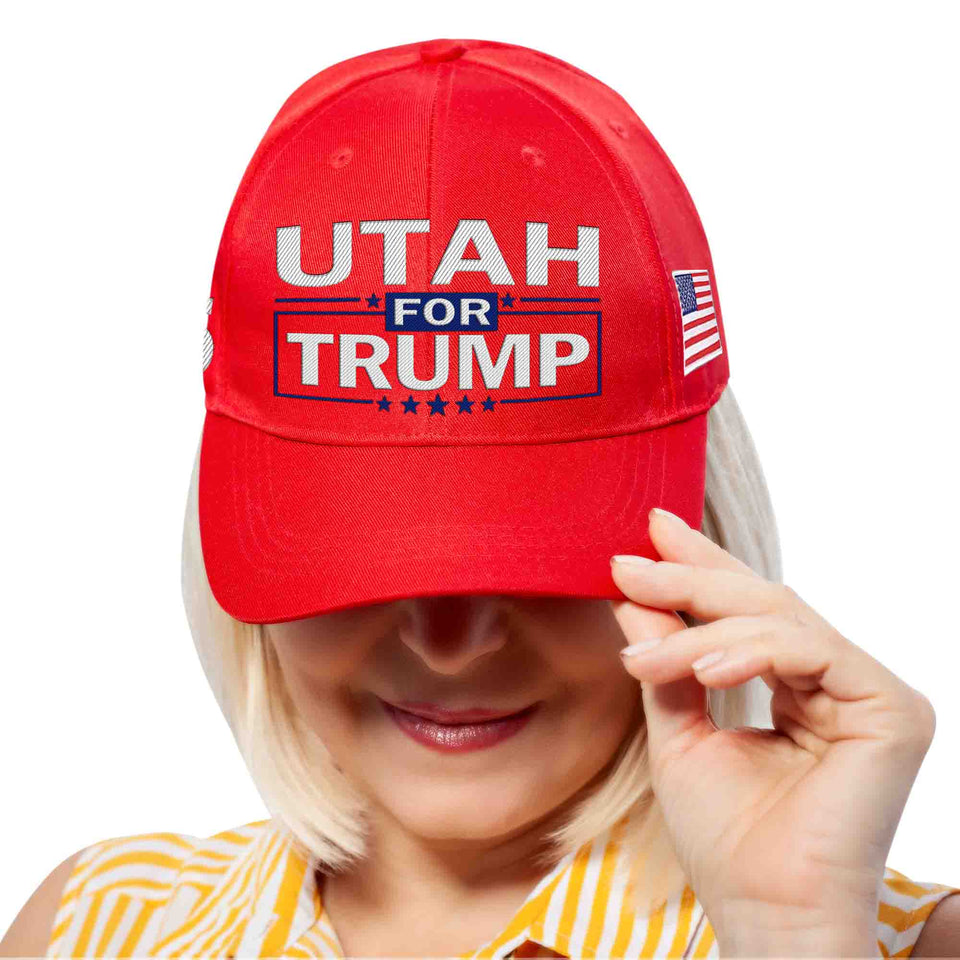 Utah For Trump Limited Edition Embroidered Hat