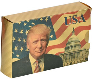 Trump 2020 Gold Plated Playing Cards Sale