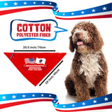 Massachusetts For Trump Dog Bandana Limited Edition Lowest Price Ever!