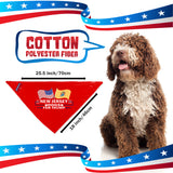 New Jersey For Trump Dog Bandana Limited Edition Sale