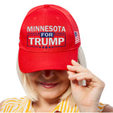 Minnesota For Trump Limited Edition Embroidered Hat Sale