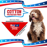 Maine For Trump Dog Bandana Limited Edition Lowest Price Ever!