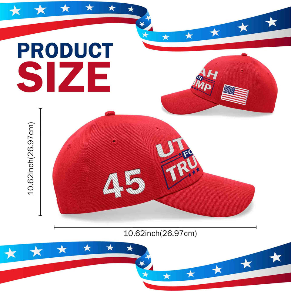 Utah For Trump Limited Edition Embroidered Hat Sale Lowest Price Ever!