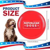 Official Republican Dogs Frisbee Made for All Breeds