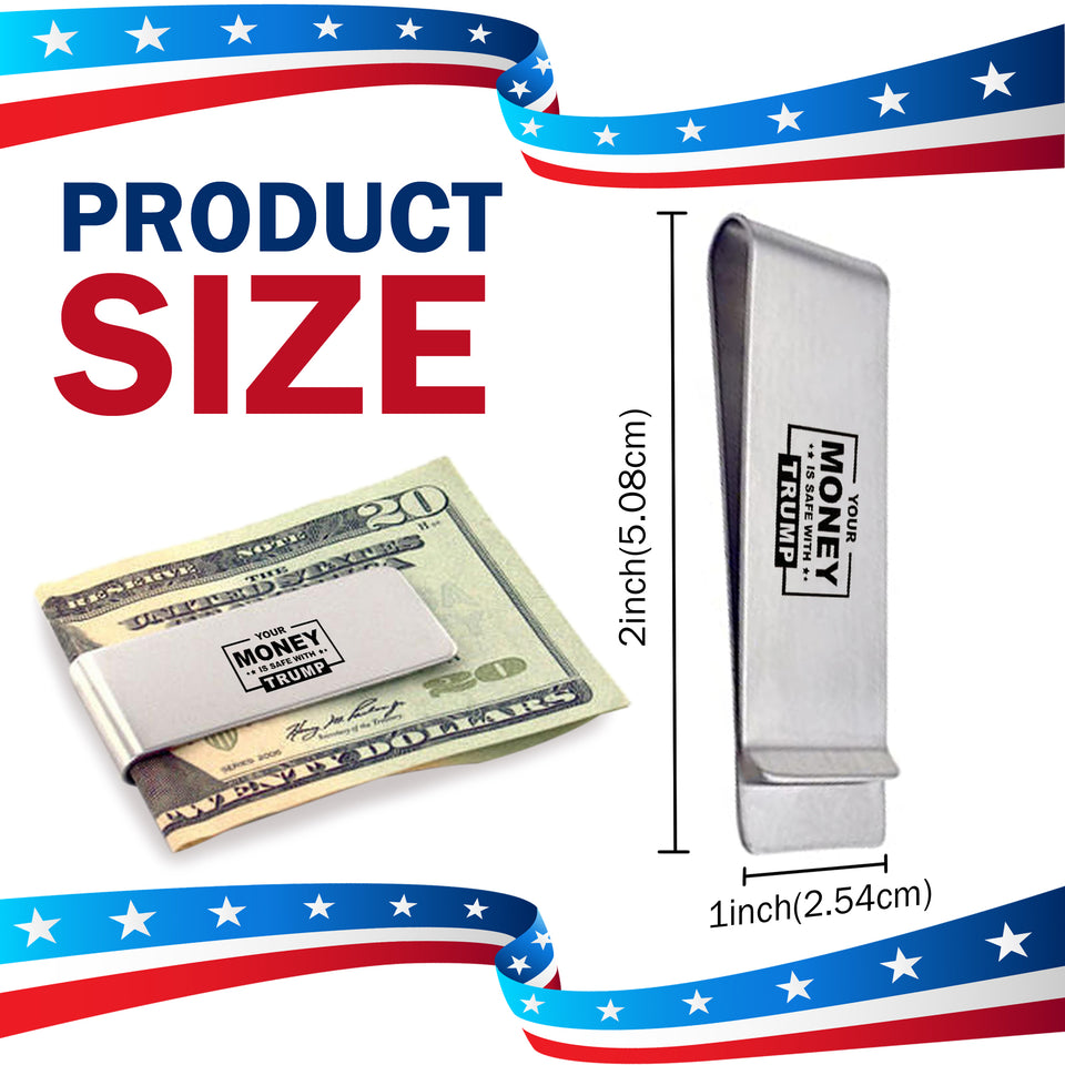 Your Money Is Safe With Trump - Money Clip Sale