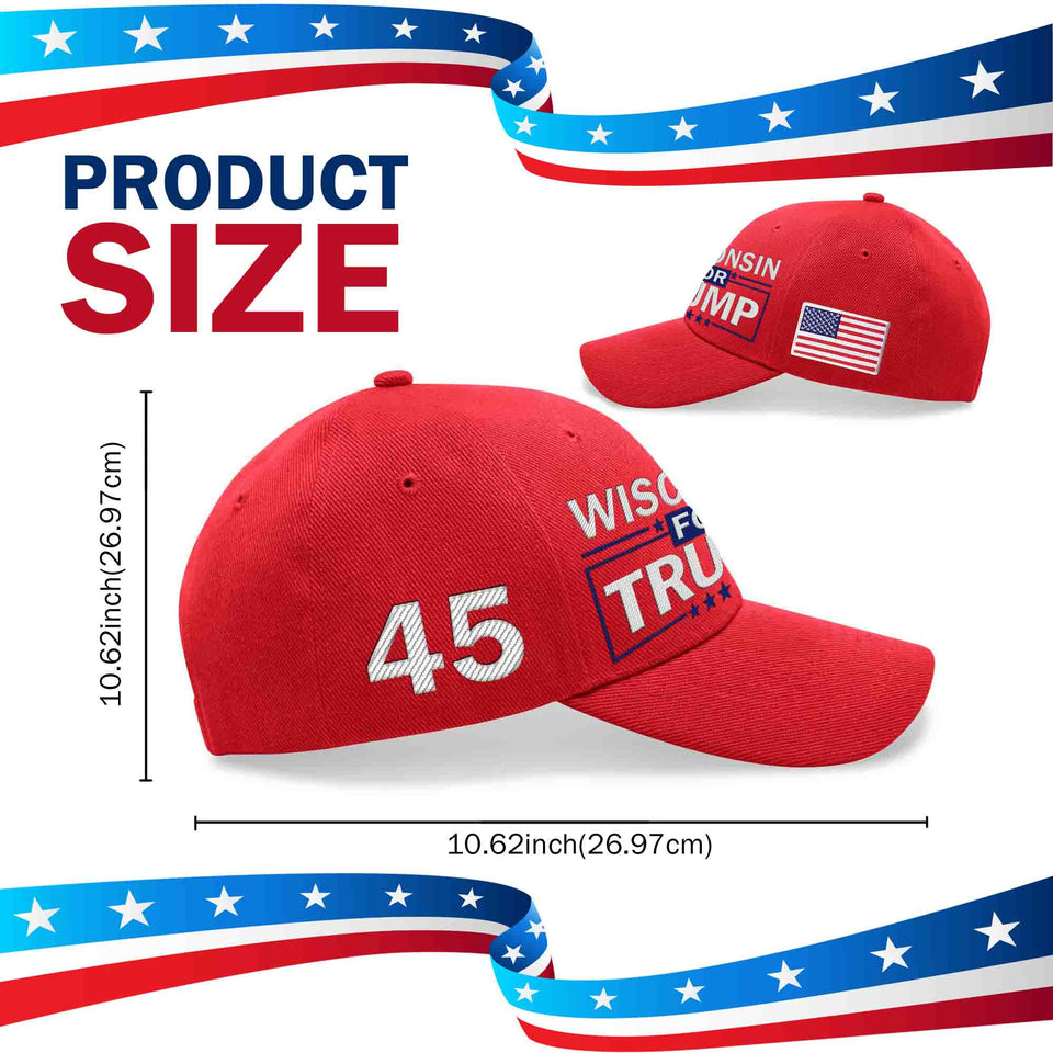 Wisconsin For Trump Limited Edition Hat Sale