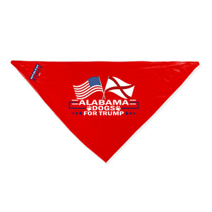 Alabama For Trump Dog Bandana Limited Edition
