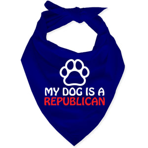 My Dog is a Republican Dog Bandana