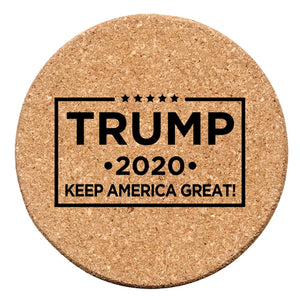 Trump 2020 Coasters Set of 4