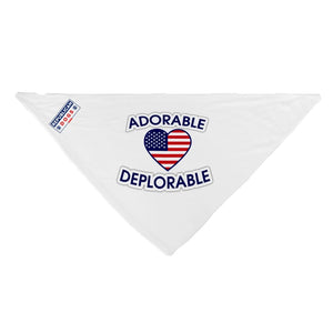 Adorable Deplorable Dog Bandana Sale
