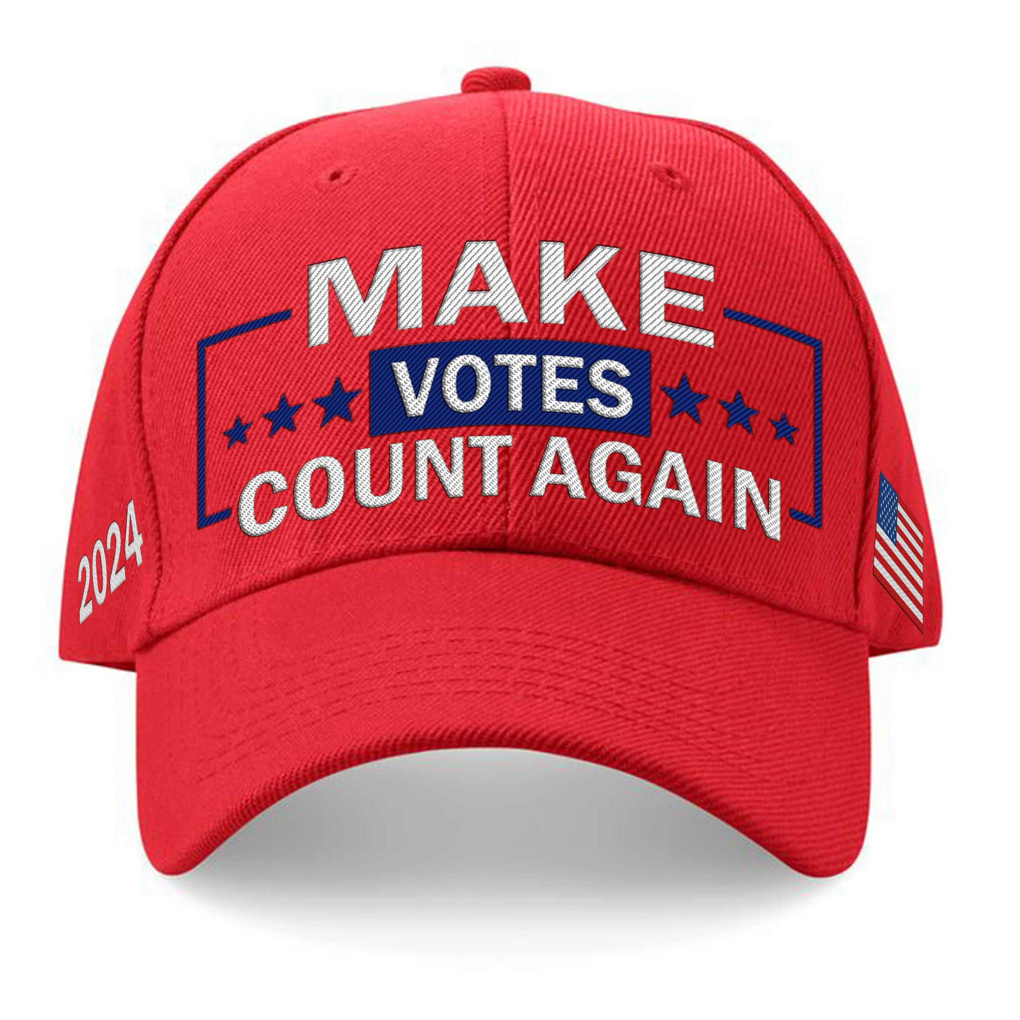 Make Votes Count Again Limited Edition Embroidered Hat