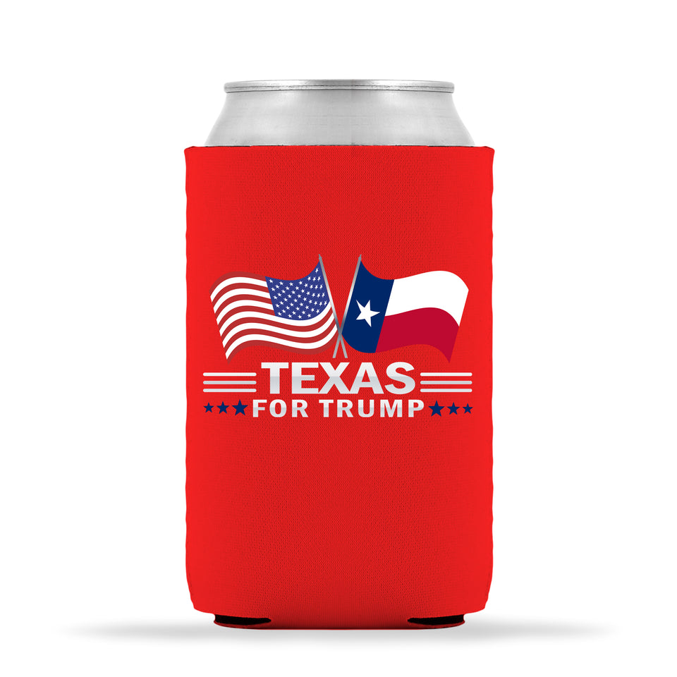Texas For Trump Limited Edition Can Cooler 4 Pack