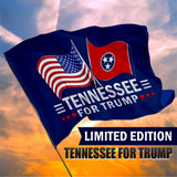 Tennessee For Trump 3 x 5 Flag - Limited Edition Dual Flags Lowest Price Ever
