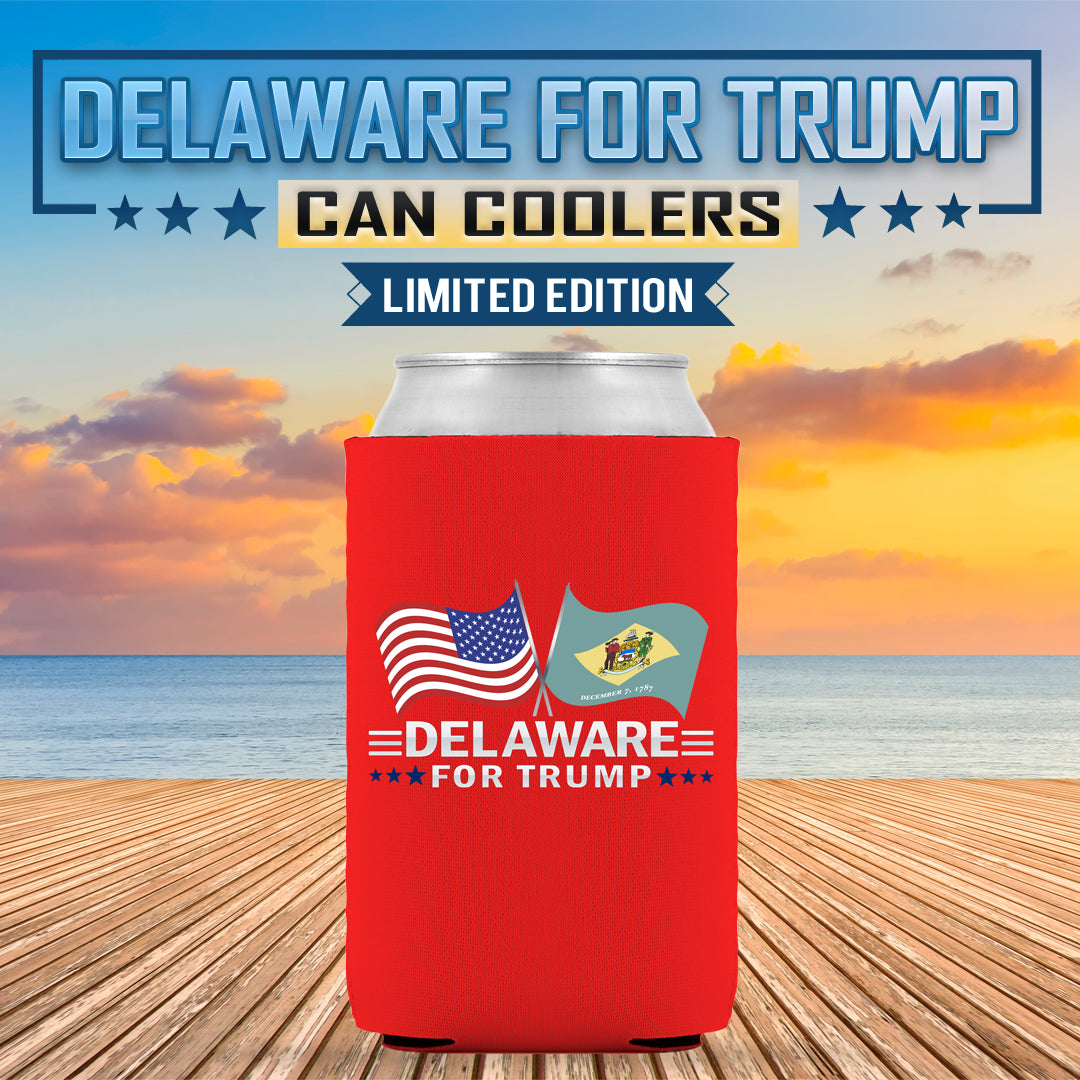 Delaware For Trump Limited Edition Can Cooler