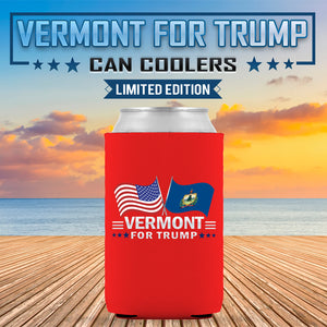 Vermont For Trump Limited Edition Can Cooler