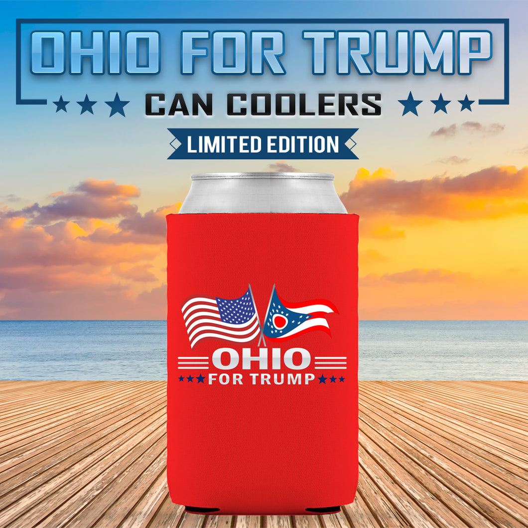 Ohio For Trump Limited Edition Can Cooler