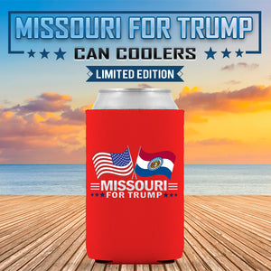 Missouri For Trump Limited Edition Can Cooler