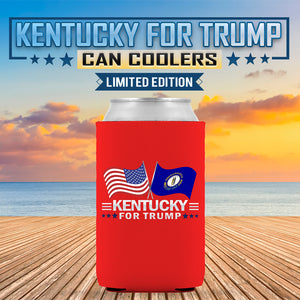 Kentucky For Trump Limited Edition Can Cooler