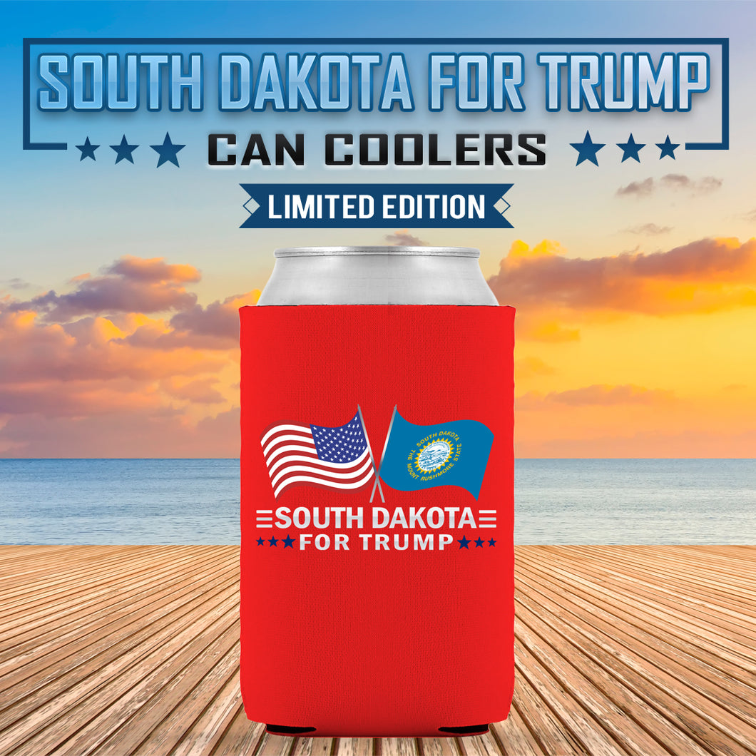 South Dakota For Trump Limited Edition Can Cooler