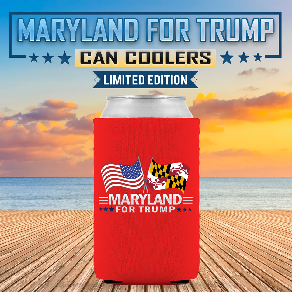 Maryland For Trump Limited Edition Can Cooler
