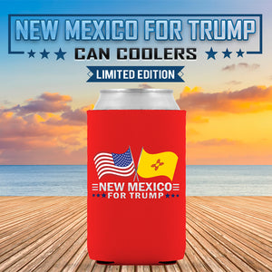 New Mexico For Trump Limited Edition Can Cooler