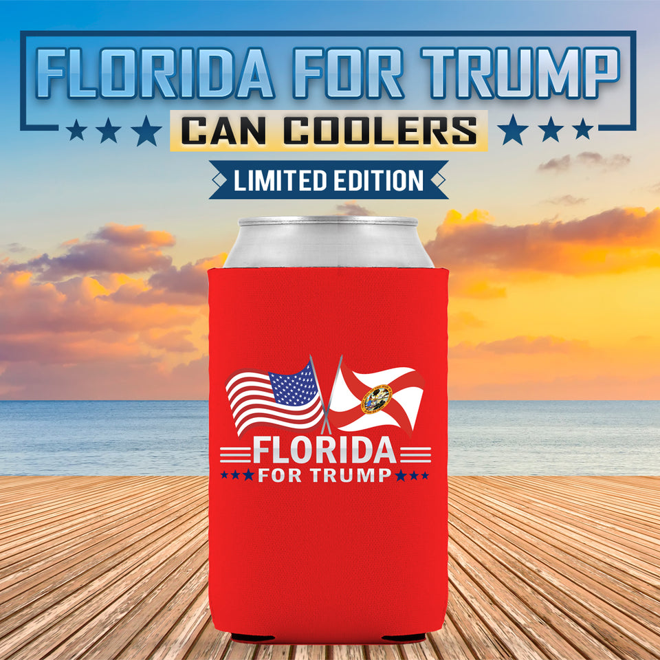 Florida For Trump Limited Edition Can Cooler