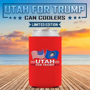 Utah For Trump Limited Edition Can Cooler