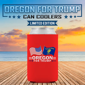 Oregon For Trump Limited Edition Can Cooler