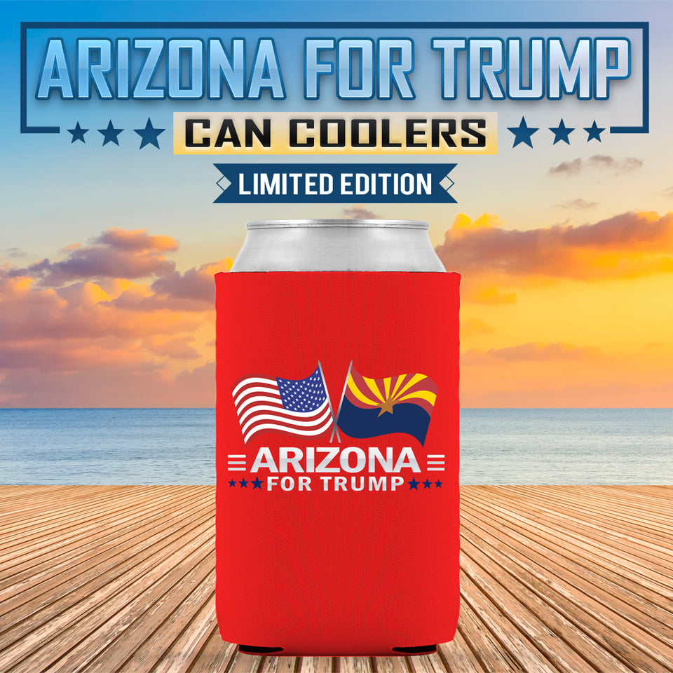 Arizona For Trump Limited Edition Can Cooler
