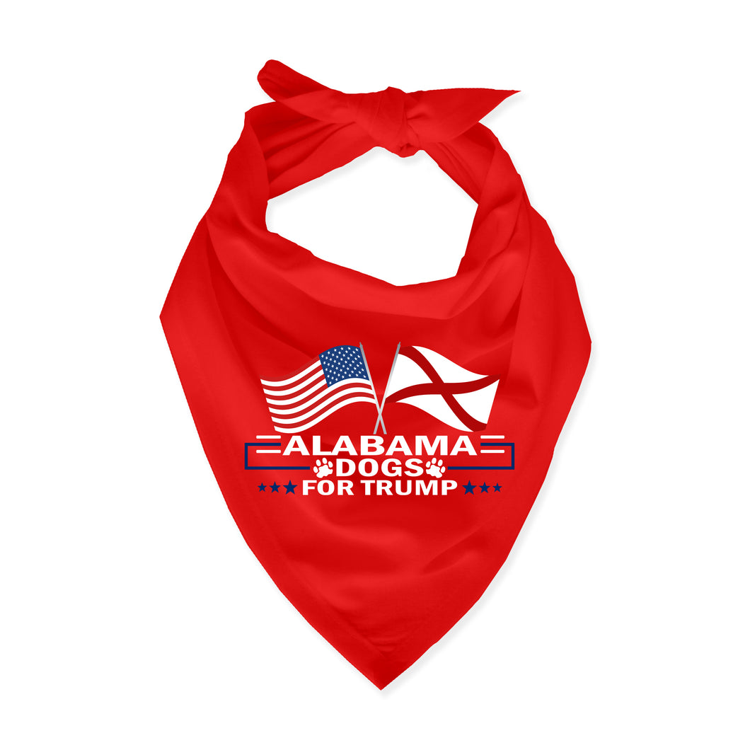 Alabama For Trump Dog Bandana Limited Edition Sale