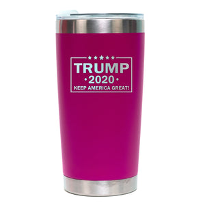 Trump 2020 Keep America Great Pink Tumbler 20oz Sale