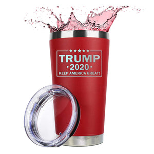Trump 2020 Keep America Great Tumbler 20oz LOWEST PRICE EVER!
