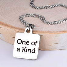 "Load image into Gallery viewer, Stainless Steel ""One of a Kind"" Necklace -- EF0032"