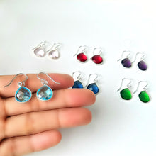 Load image into Gallery viewer, Hydro Quartz Dangle Earrings -- EF0112