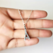 Load image into Gallery viewer, Sterling Silver Eiffel Tower Charm -- EF0119