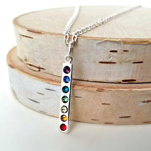 Sterling Silver Chakra Charm -- EF0162