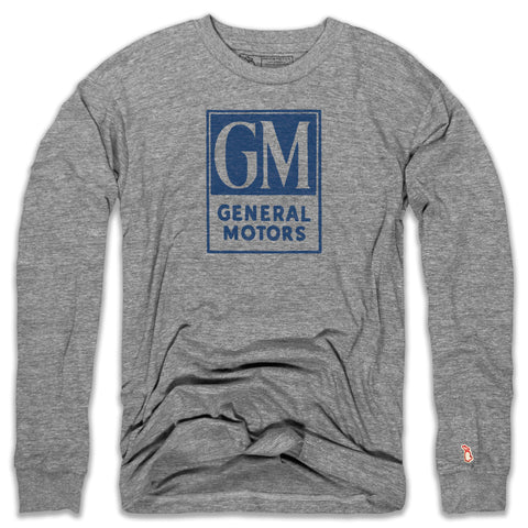GM - 1970S CLASSIC LOGO LONG SLEEVE (UNISEX)