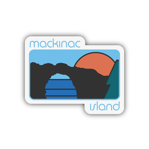 MACKINAC ISLAND STATE PARK STICKER