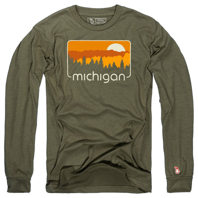 MICHIGAN COLOR TOUR LONG SLEEVE (UNISEX)
