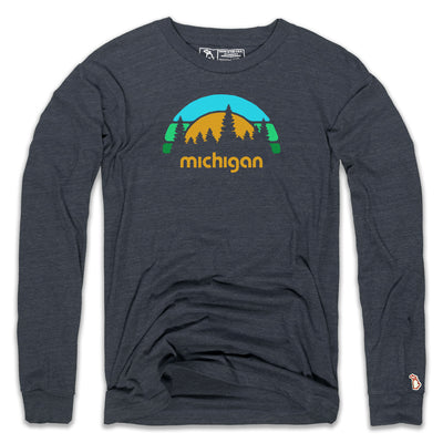 MICHIGAN OUTDOORS LONG SLEEVE (UNISEX)