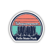 TAHQUAMENON FALLS STICKER