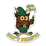 WOODSY THE OWL STICKER