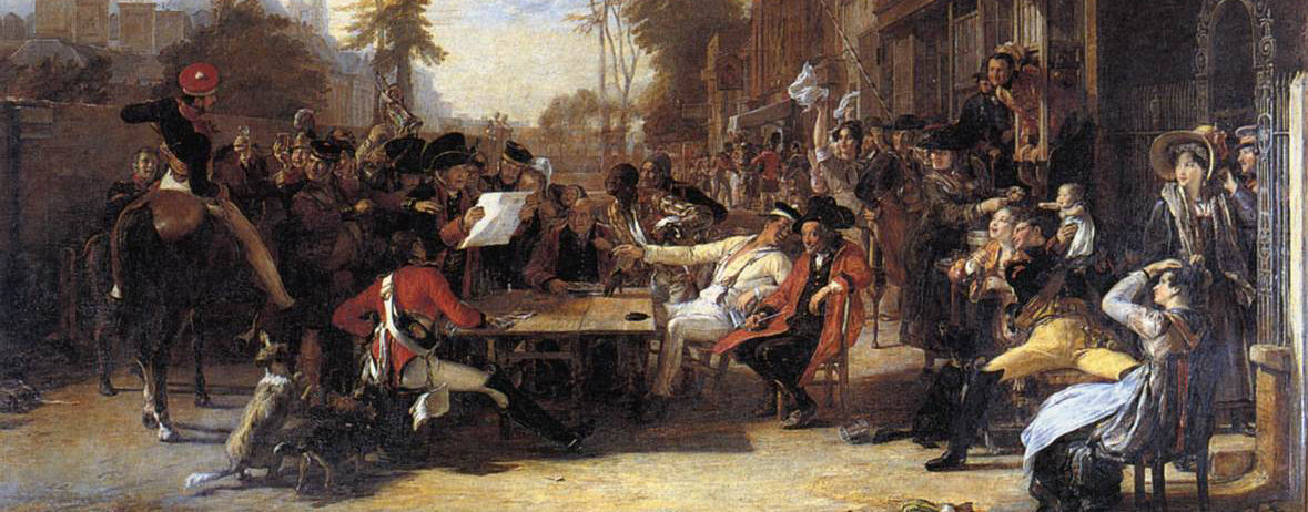 Happy Birthday Sir David Wilkie (Scotish Genre Scene Artist)